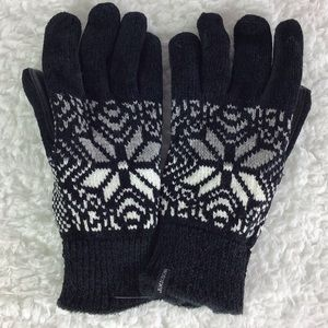 Isotoner Signature Textured Touchscreen Gloves OS